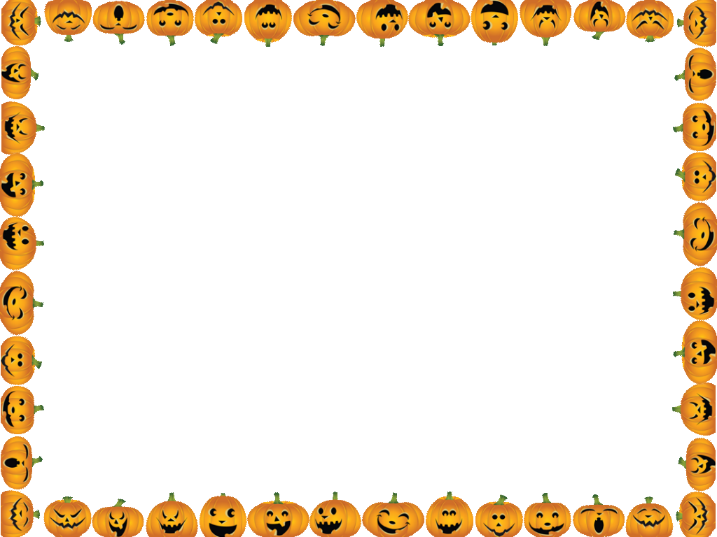 Clipart landscapes fun for. Halloween border png