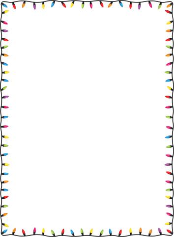 Clipart borders light. Free lights border cliparts