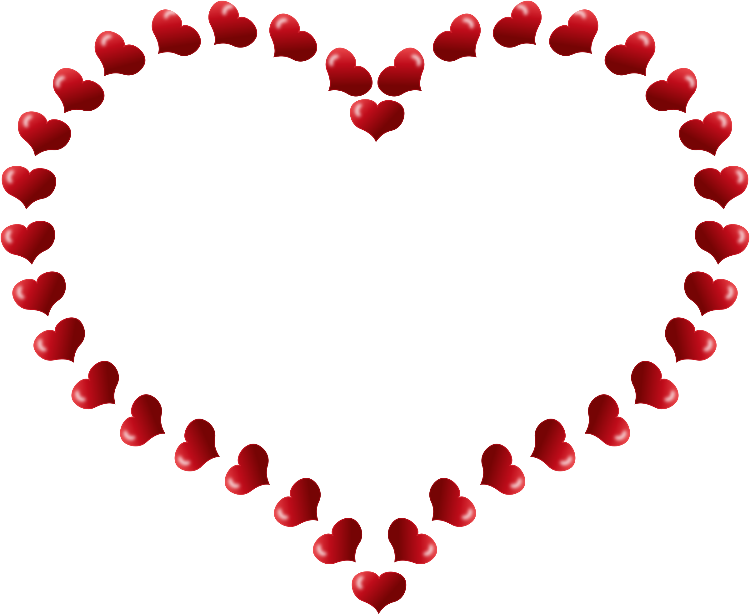 Ekg clipart heart shaped. Red border with little