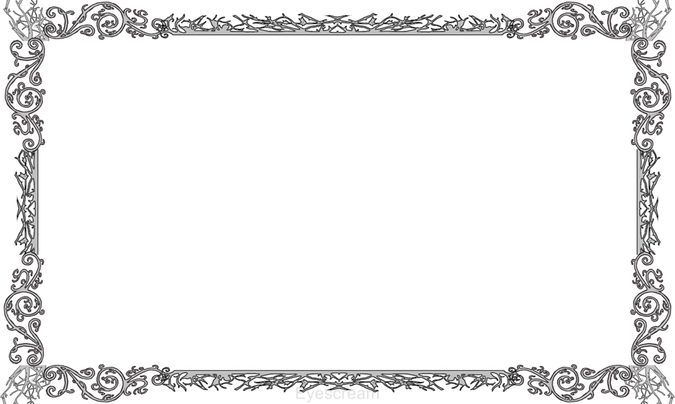 collection of clipart. Gothic frame png