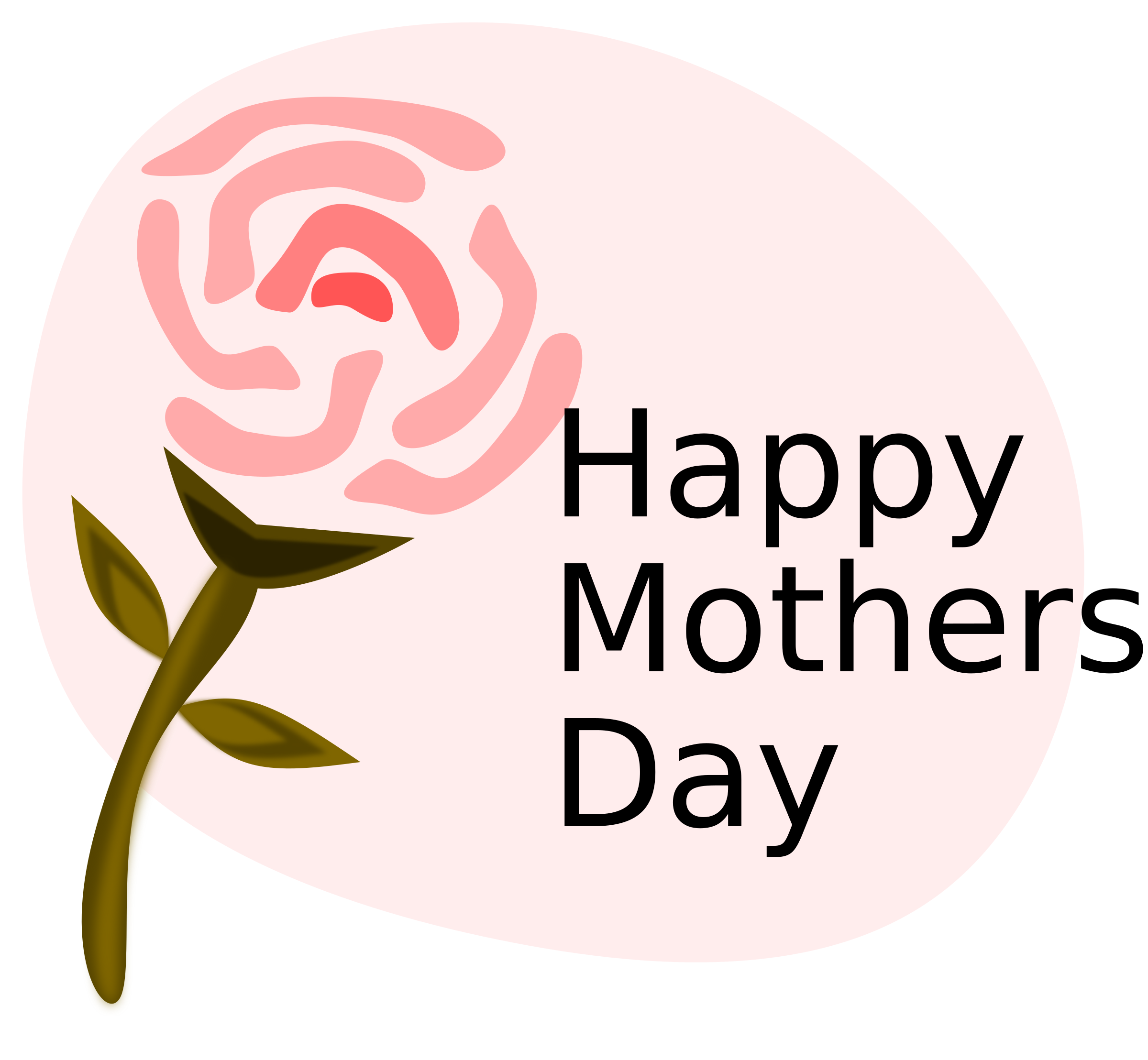 Flower clipart happy mothers day. Big image png