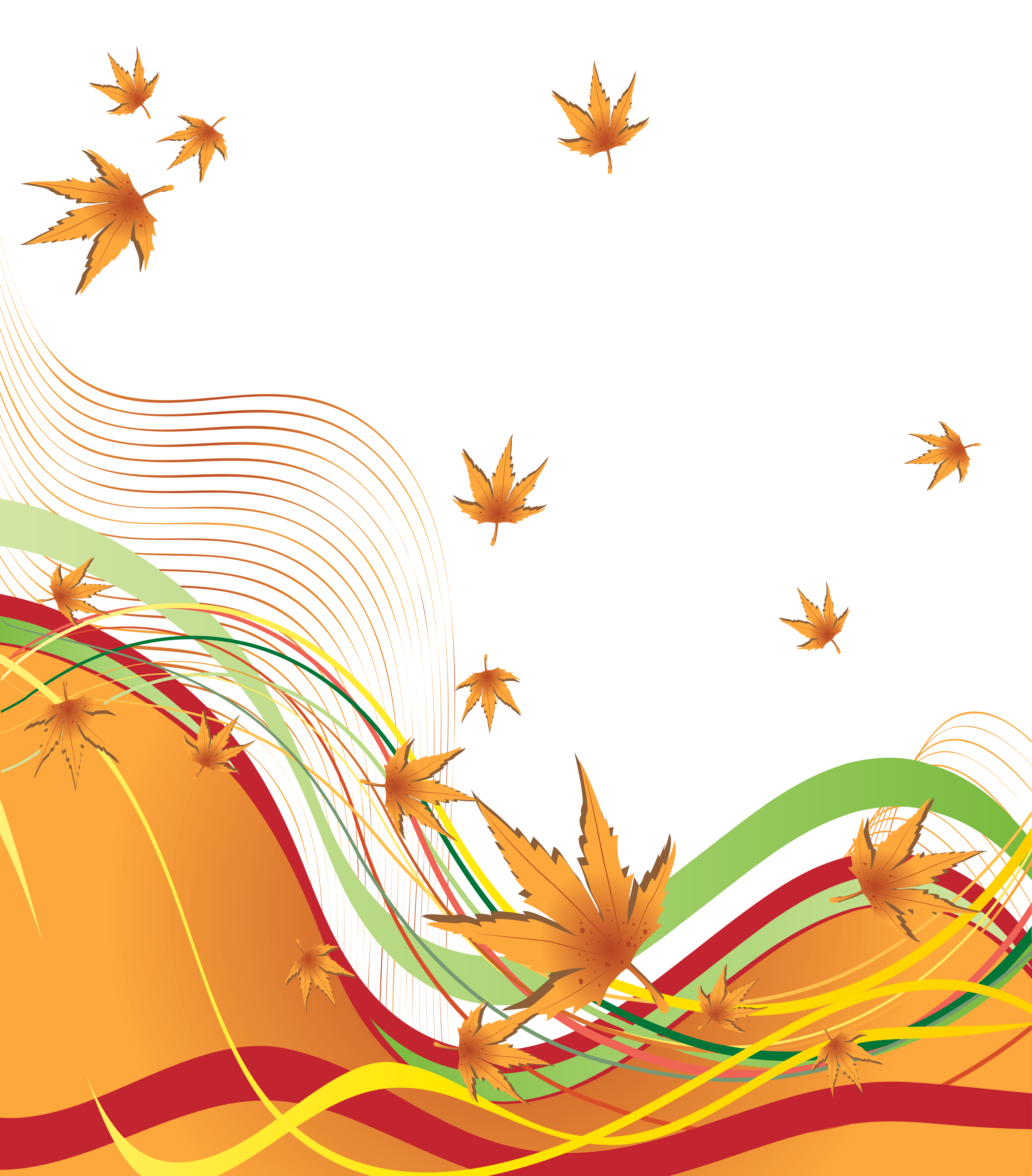Autumn border png. Decorative clipart image gallery