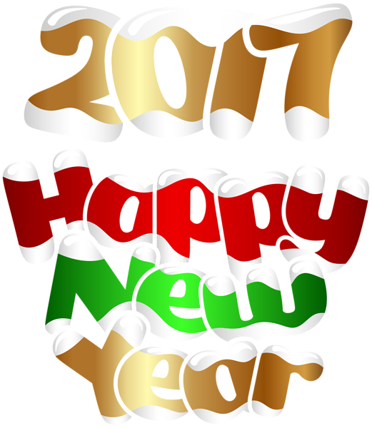 happy transparent png. Clipart calendar new year