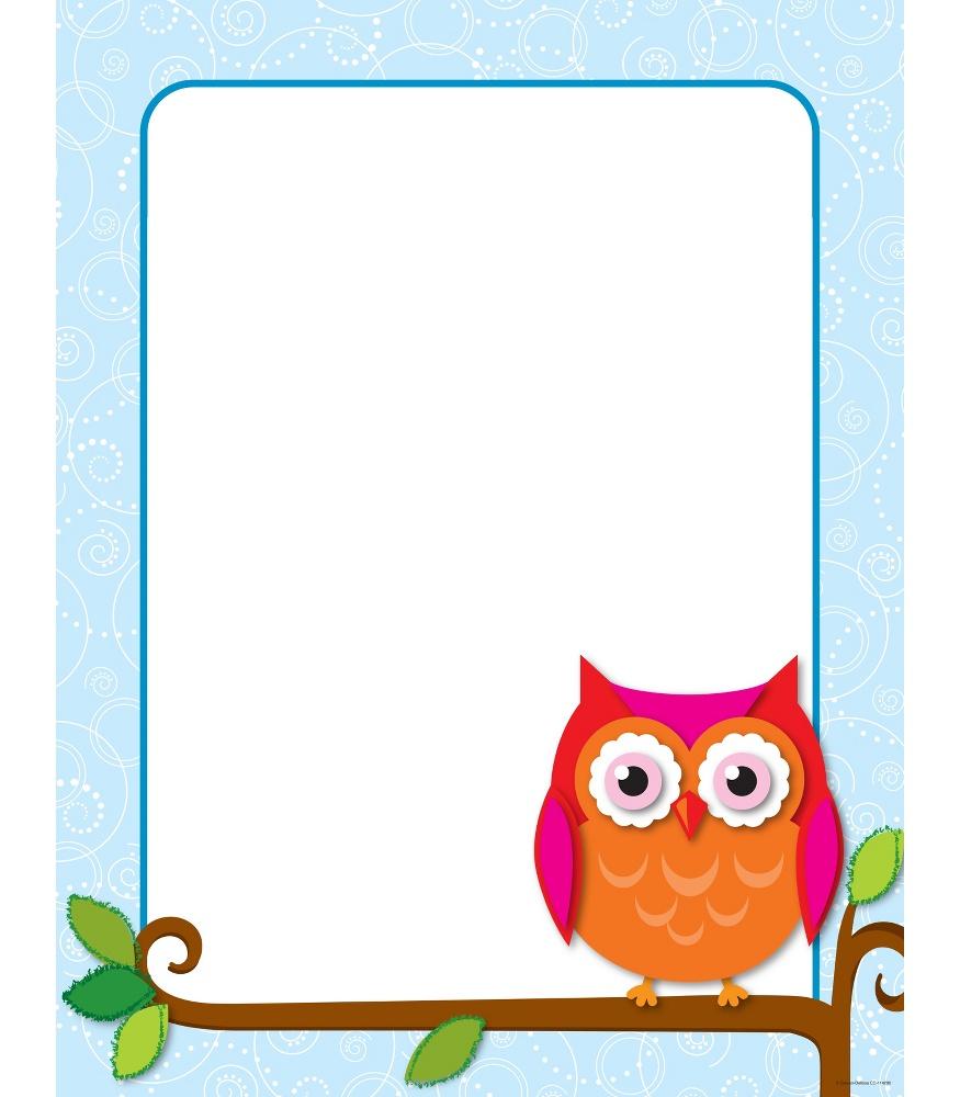 Clipart owl border design. Free borders download clip