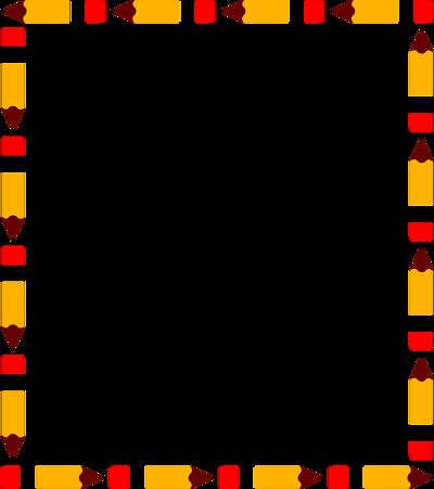 Clipart pencil borders. Free border cliparts download
