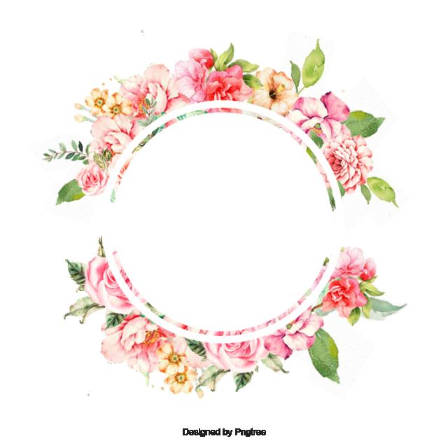 Garland clipart spring. Flower frame corner pansy