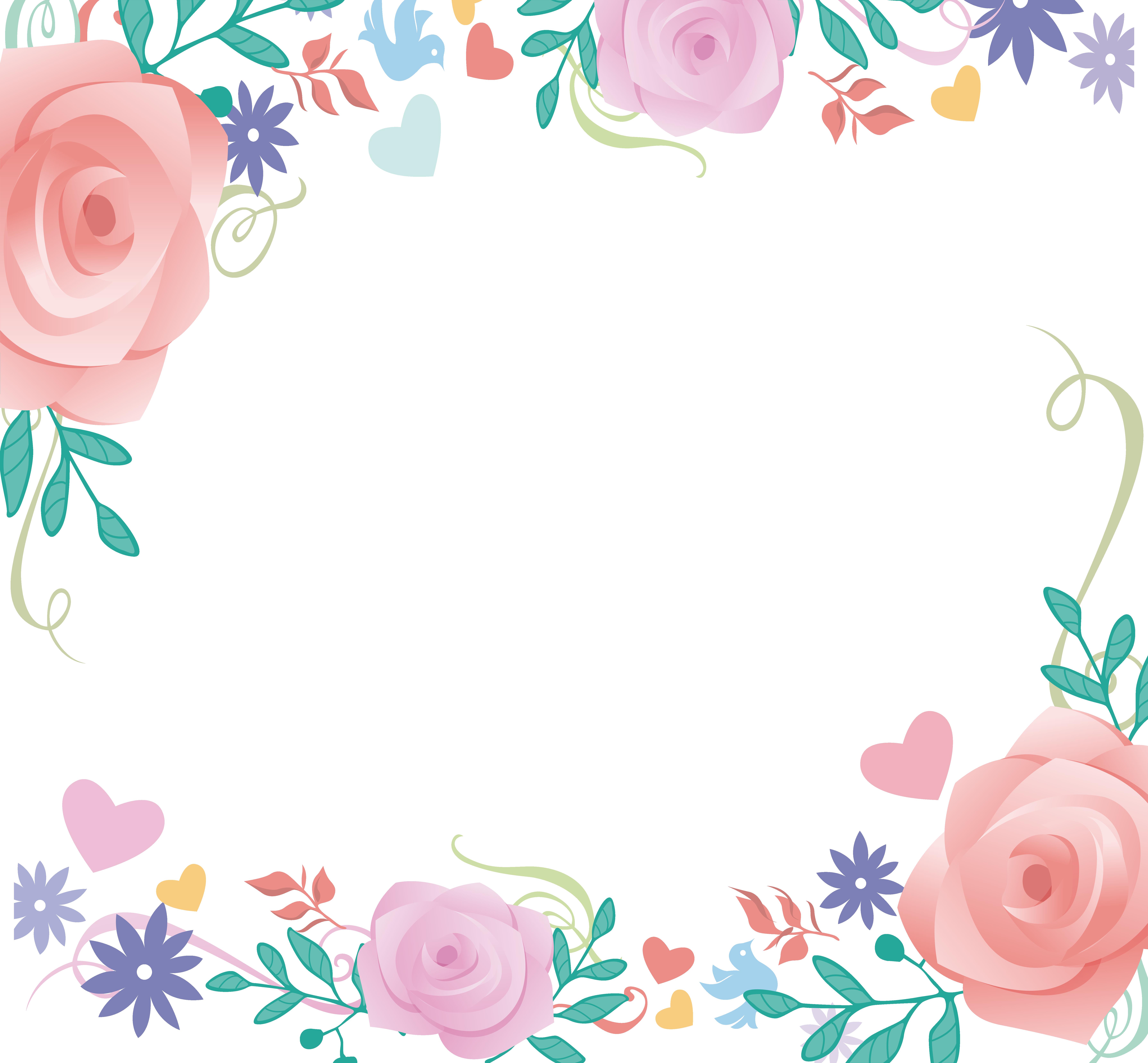 Love illustration flower transprent. Clipart border peony
