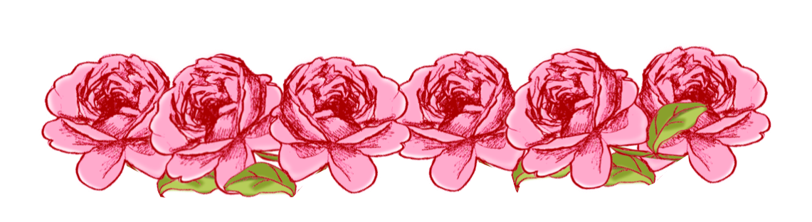 Free digital frame and. Clipart borders pink rose