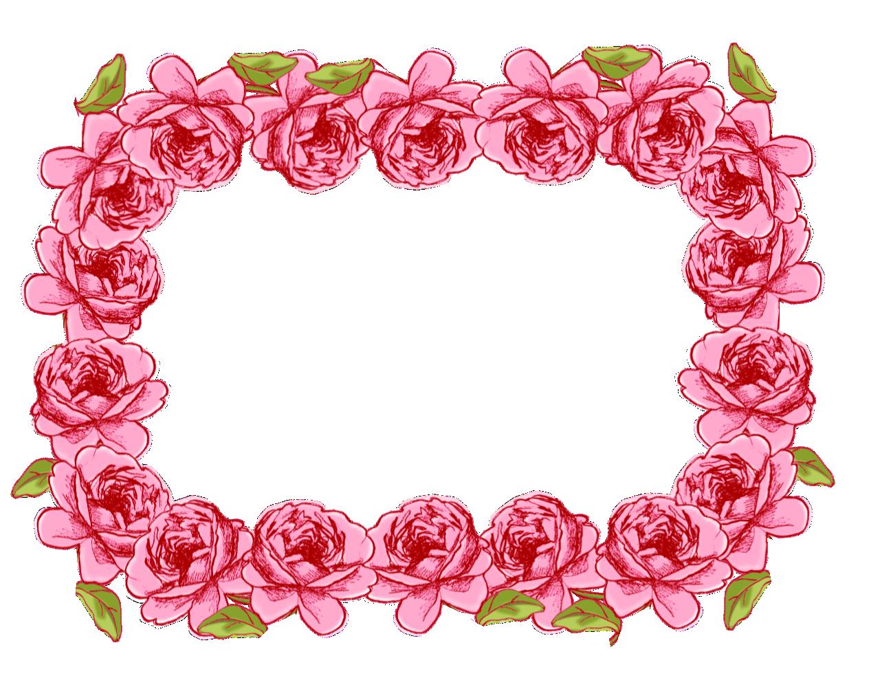 Pink rose clip art. Clipart roses circle