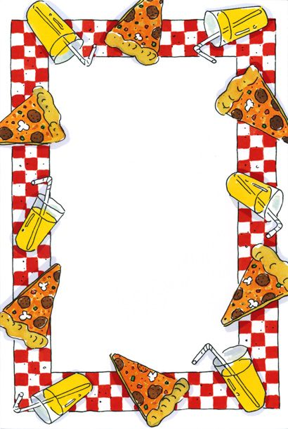 Frame clipart pizza. Party google search