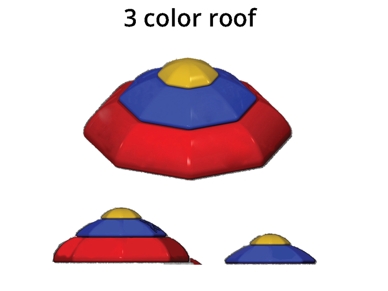 Roofs octagon roof. Playground clipart tunnel playground