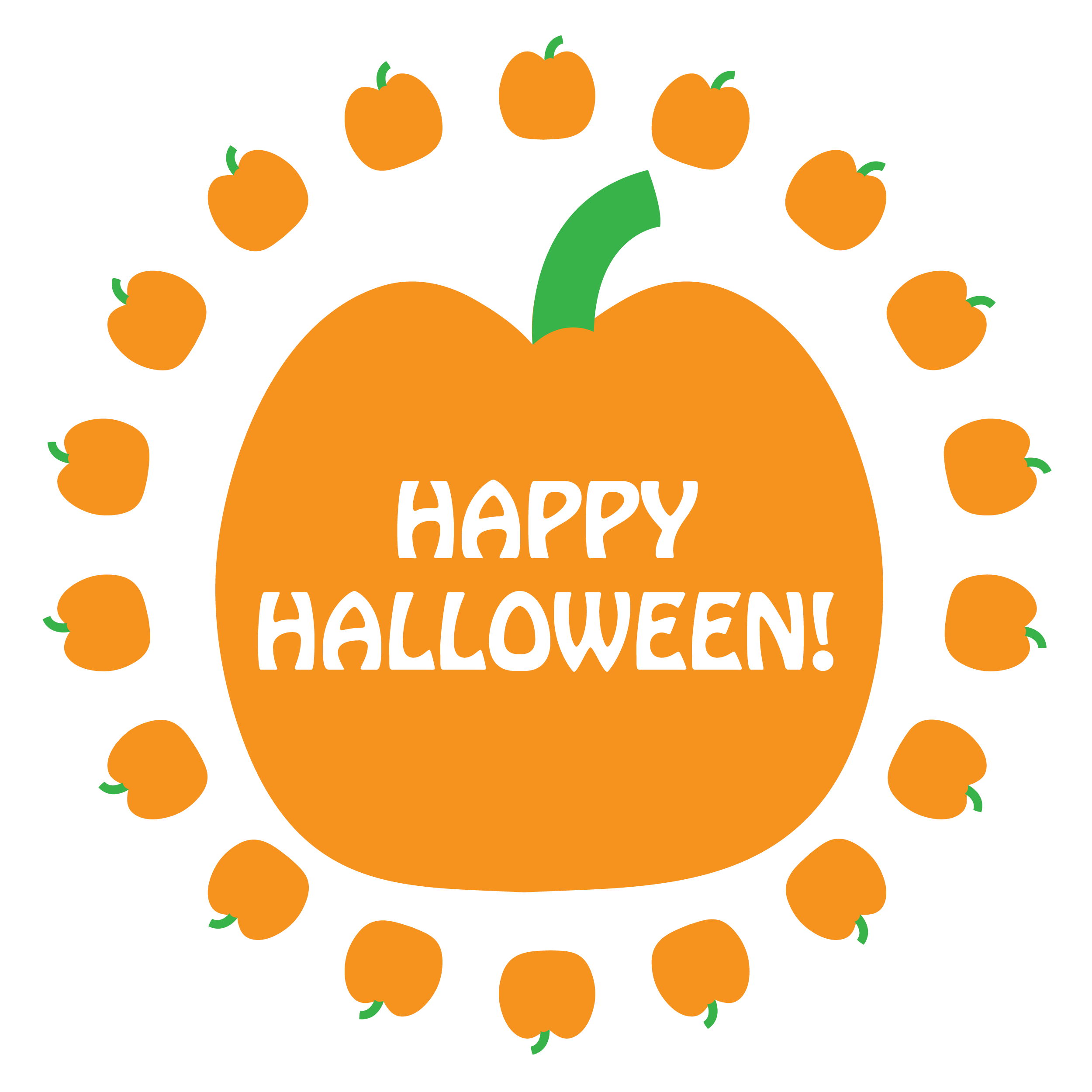 Clipart pumpkin boarder. Halloween napkin knot border