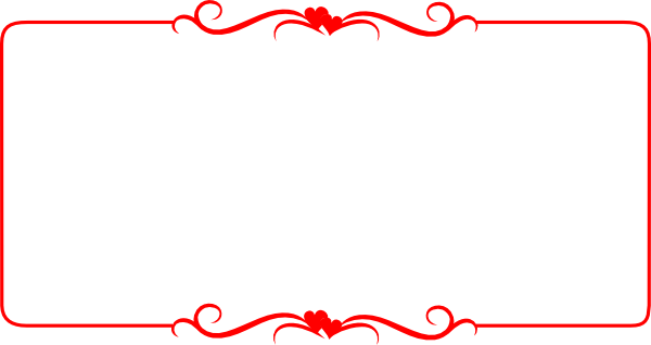 Clipart border red. Free download clip art