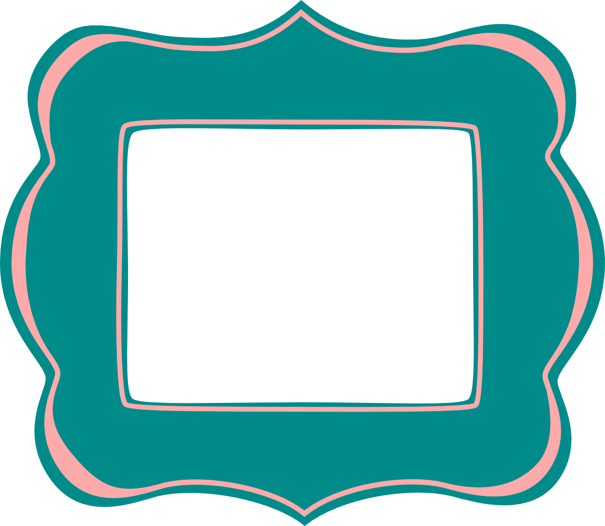 Free vector scrapbook frames. Words clipart journal