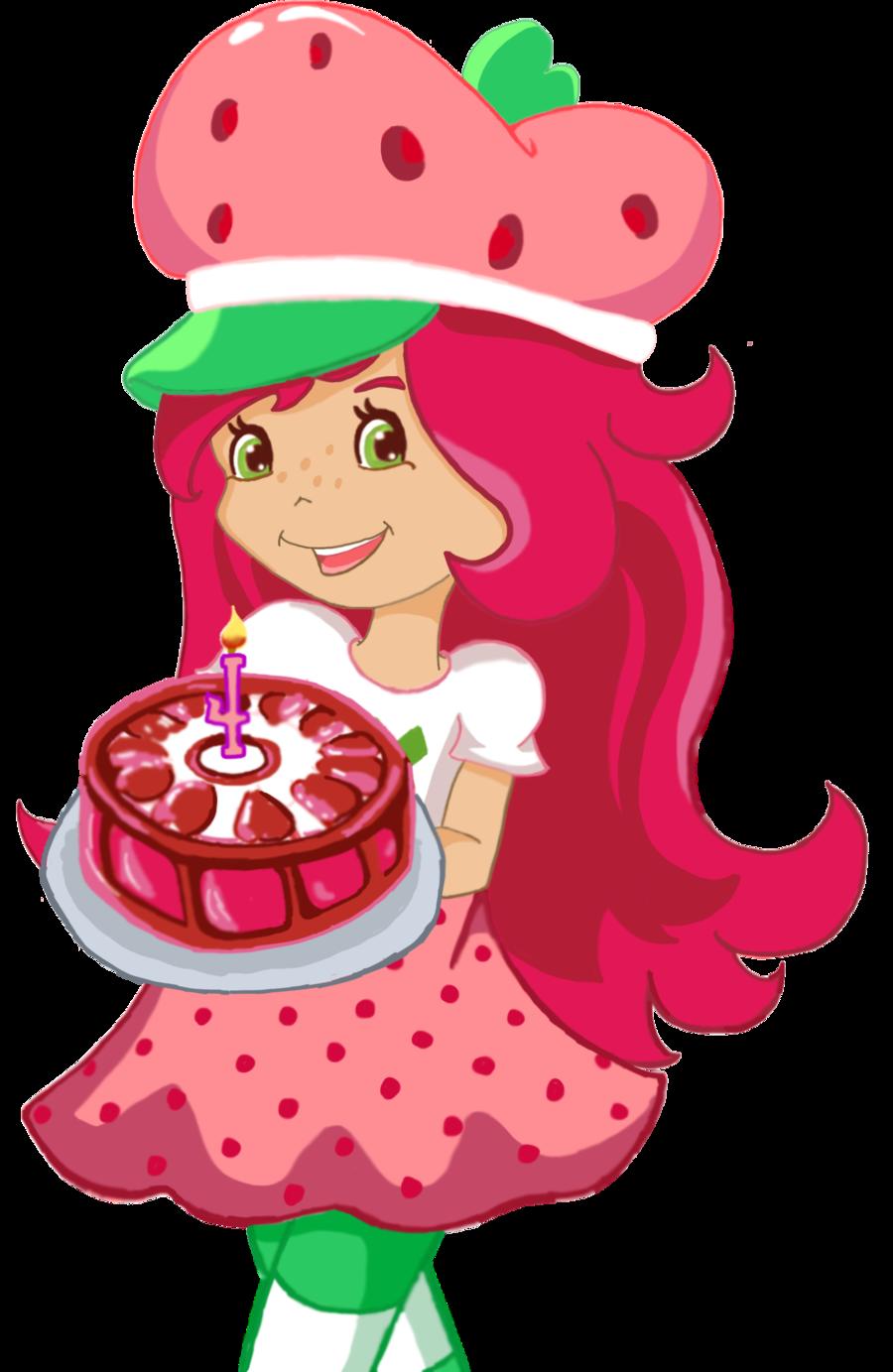 Shortcake by anjiookami. Eyes clipart strawberry