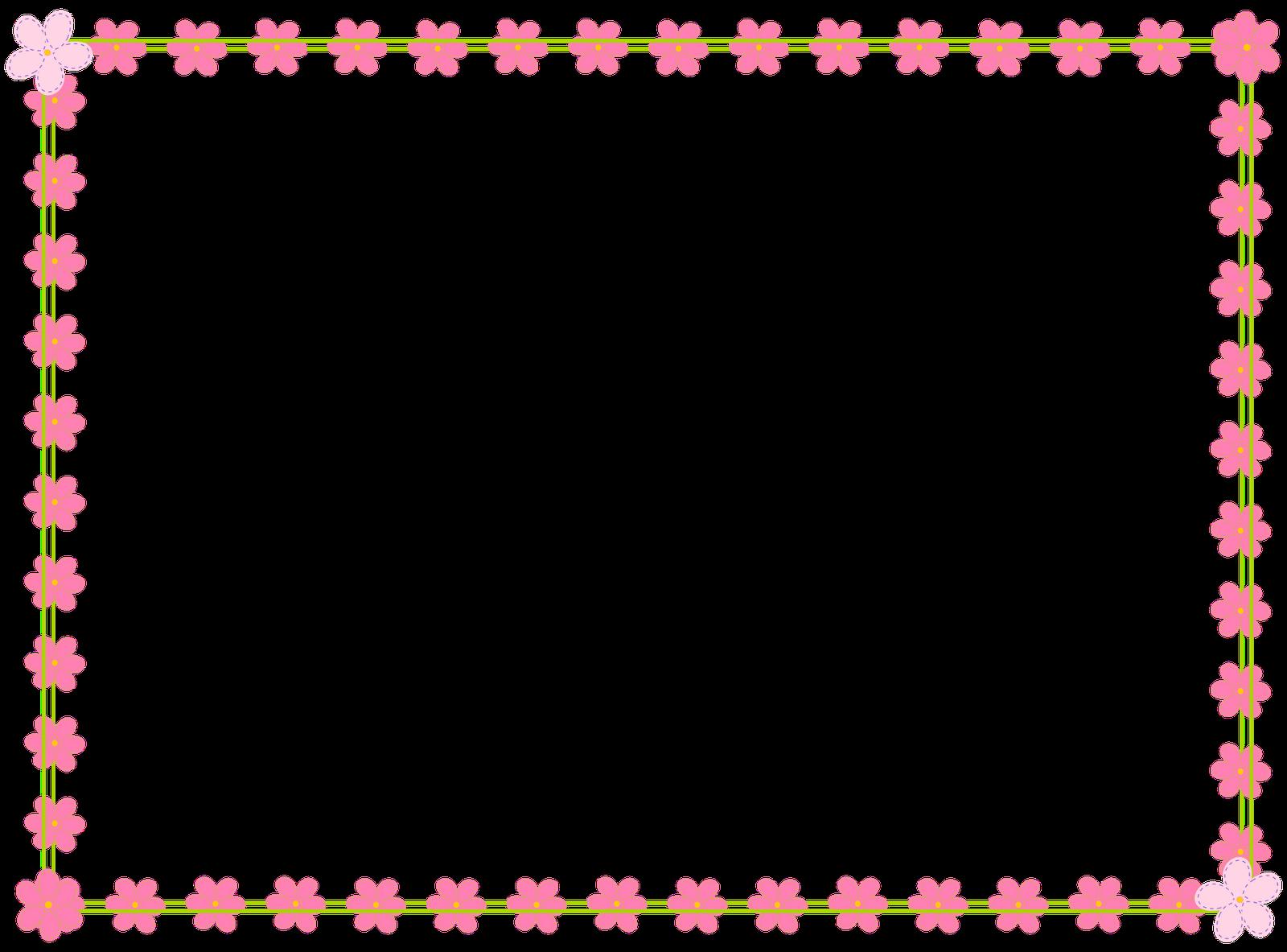 Scrapbook clipart clear background. Free digital flower border