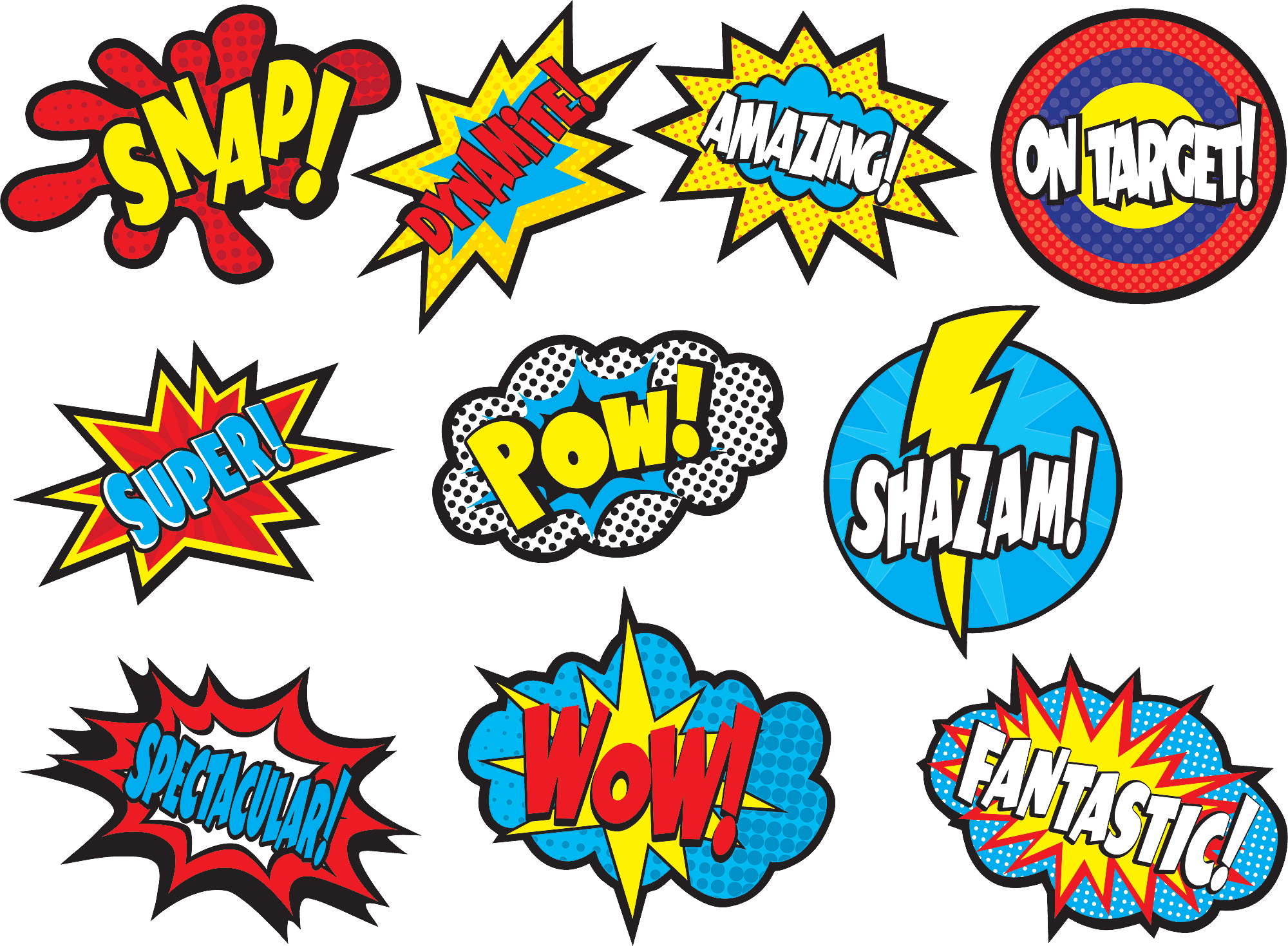 Clipart border superhero.  collection of sayings