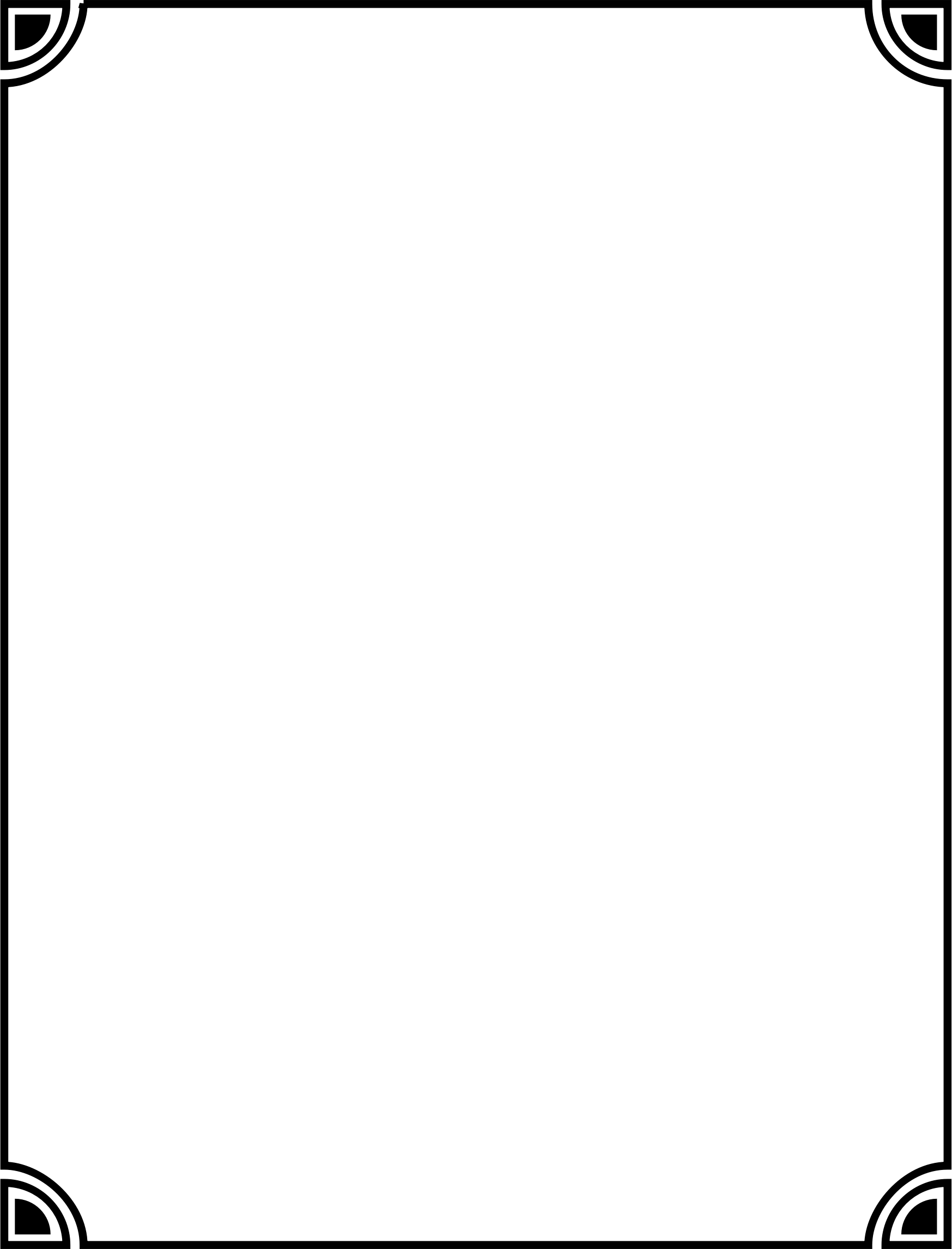 Boarder clipart transparent background. Black border png