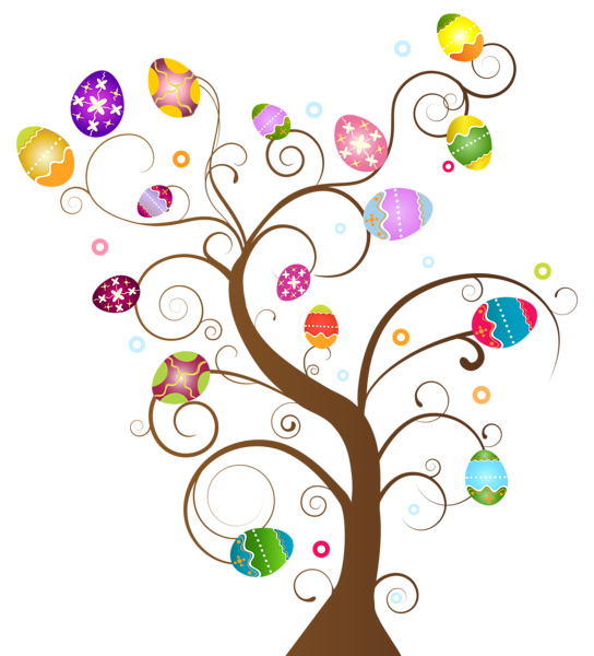 Hearts clipart tree. Egg border free download