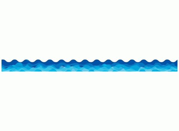Free wave cliparts download. Waves clipart border