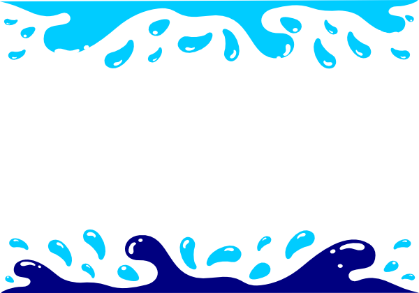 Party clip art borders. Fountain clipart water pool
