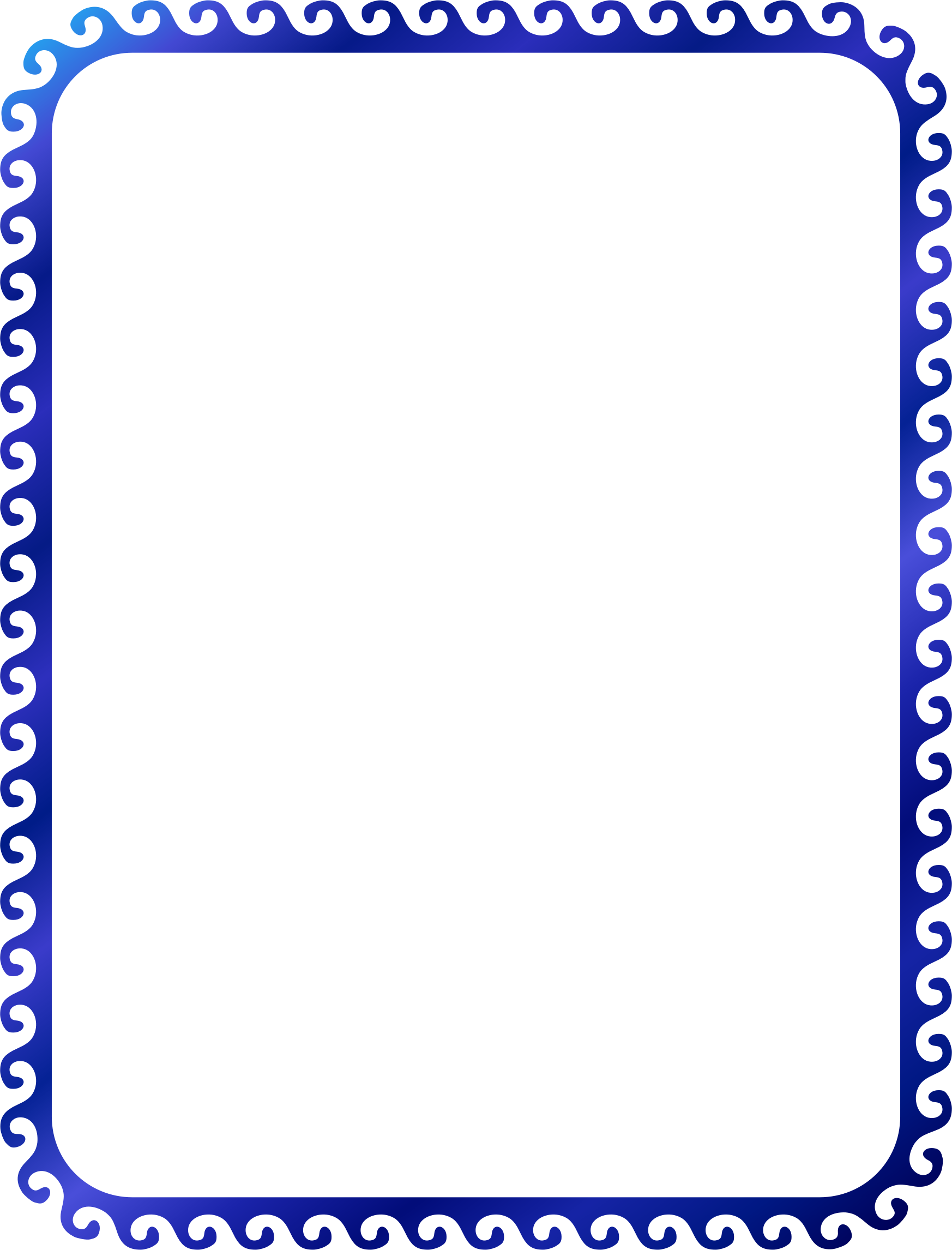 Wave border png. Clipart
