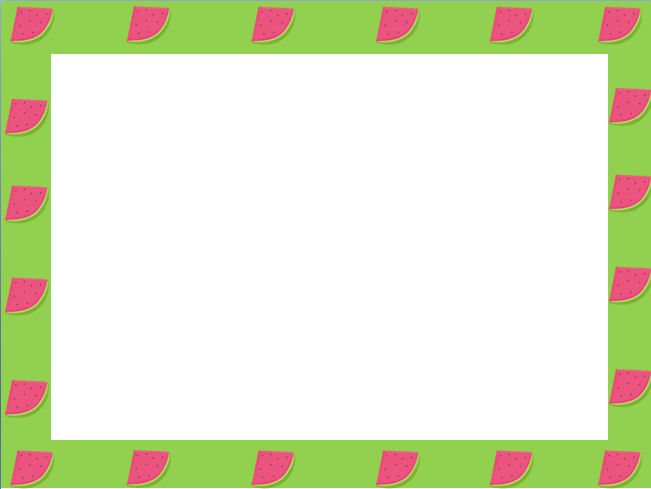 Free border cliparts download. Watermelon clipart frame