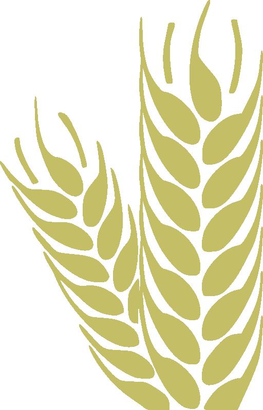 Clipart tree wheat. Trigo i royalty free