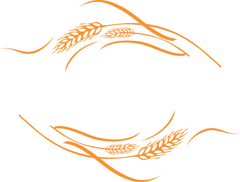 Free border cliparts download. Wheat clipart frame