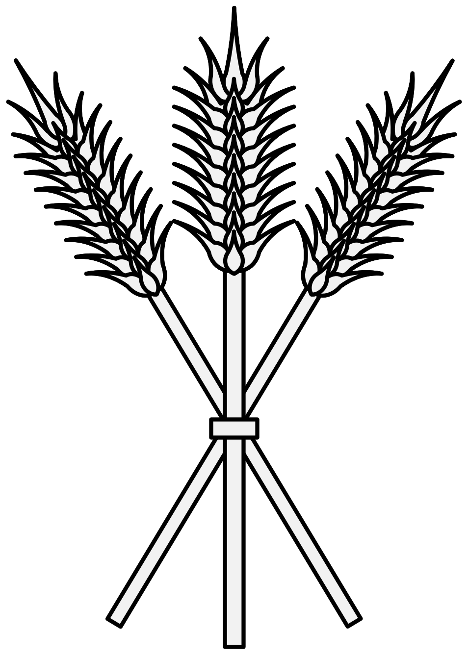 Line drawing at getdrawings. Crops clipart wheat barley