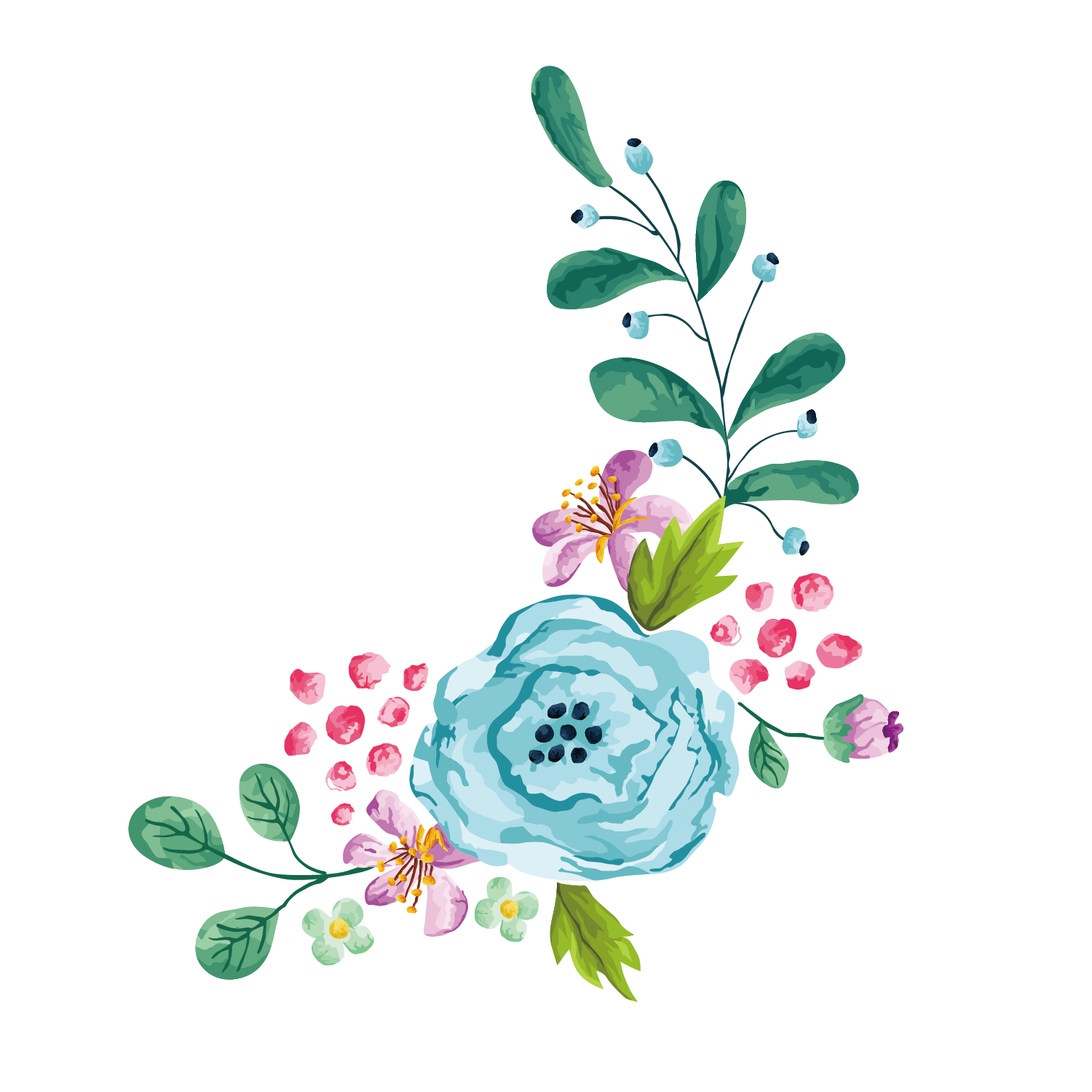 Clipart borders wildflower. Flower stock photography euclidean