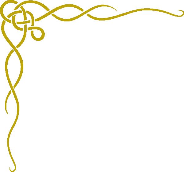 Clip art at clker. Gold border png