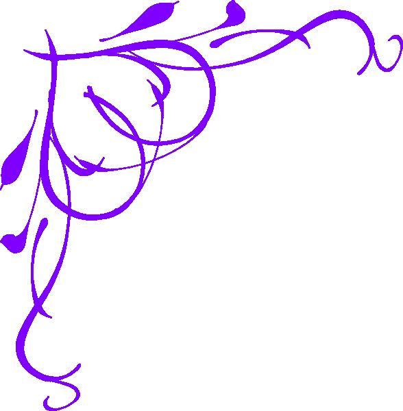 Clipart borders baby girl. Vine heart purple clip