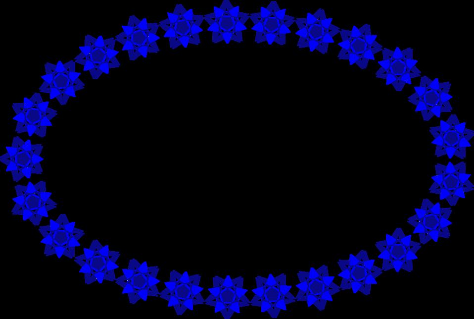 Frame clipart shape. Border blue free stock