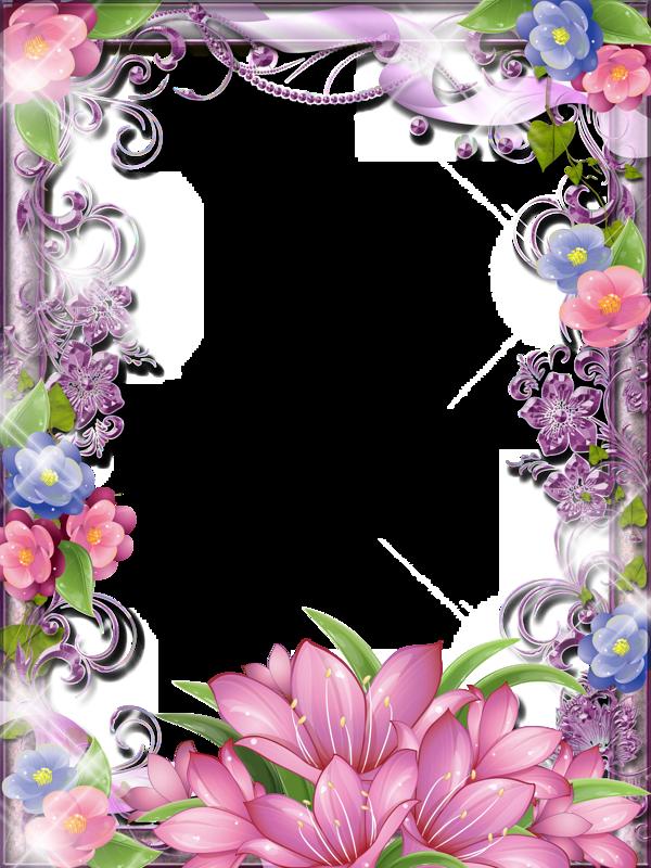 png pinterest flowers. Clipart frame blue flower