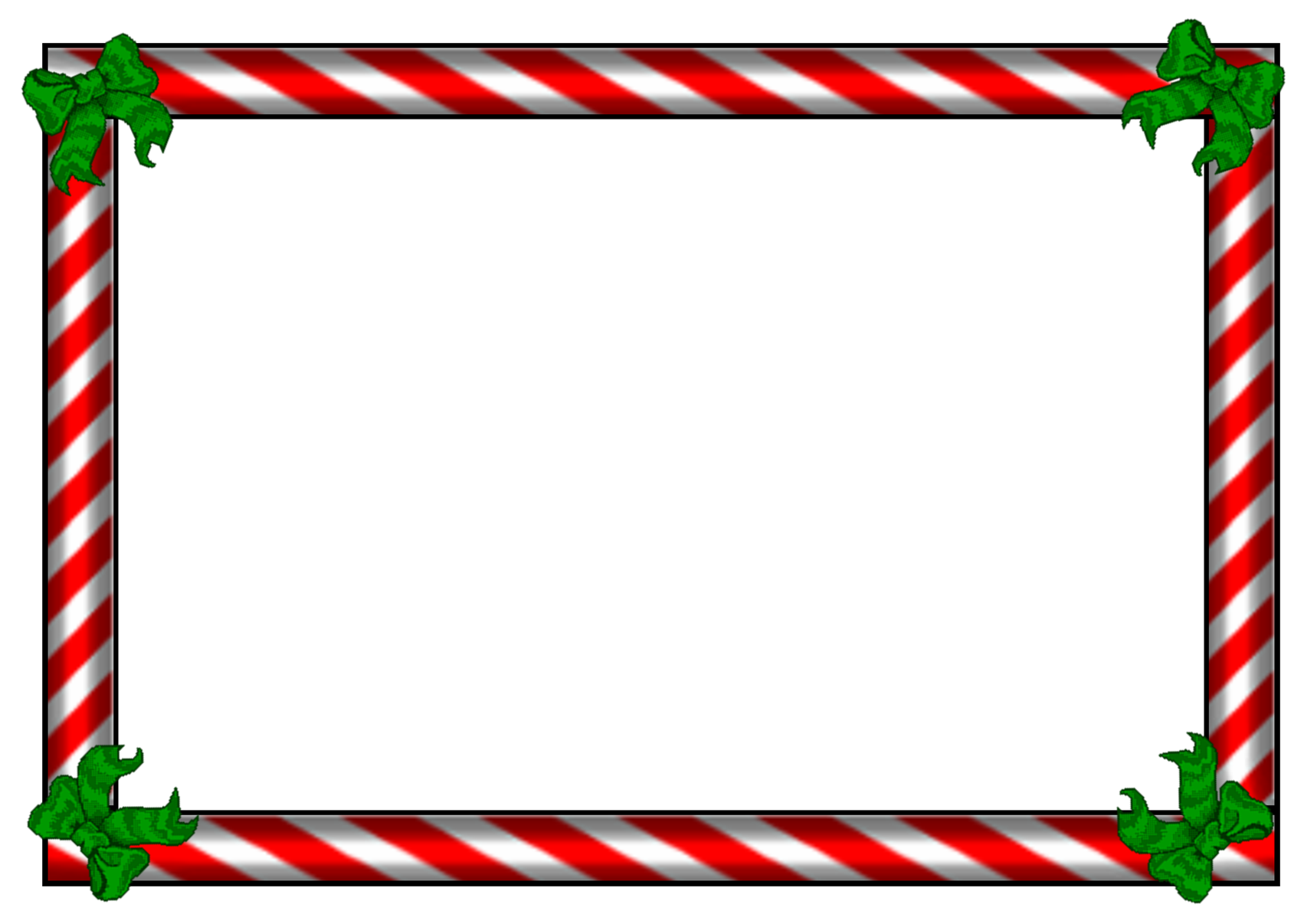 Candy cane border png. Best photos of christmas