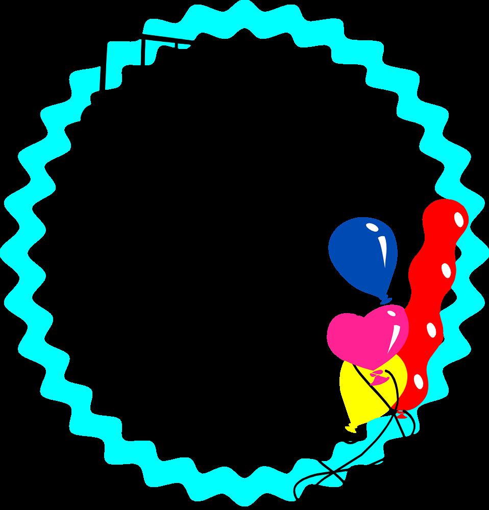 Clipart borders celebration. Border blue free stock