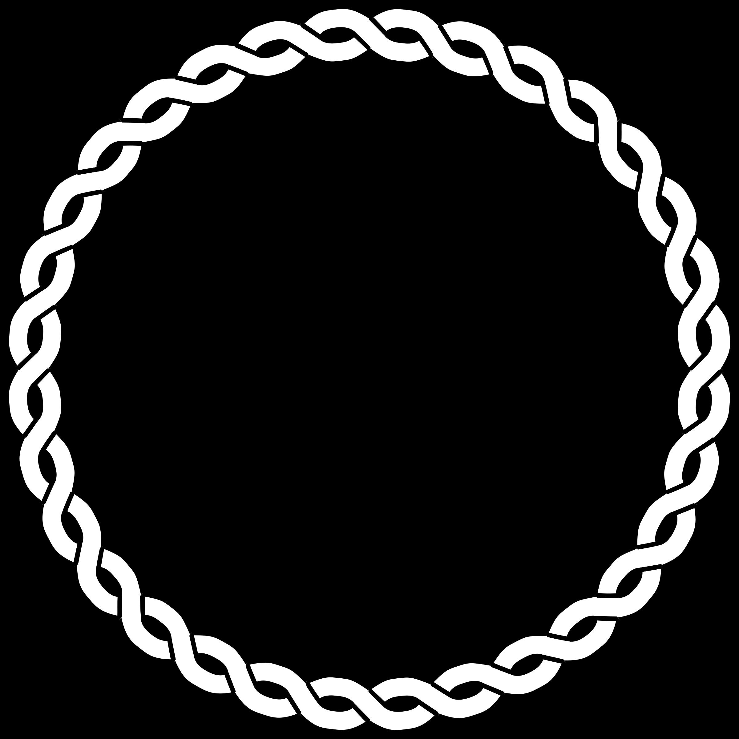 Clipart rope big image. Circle border png