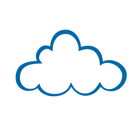 Cloudy clipart puffy cloud. Image of clip art