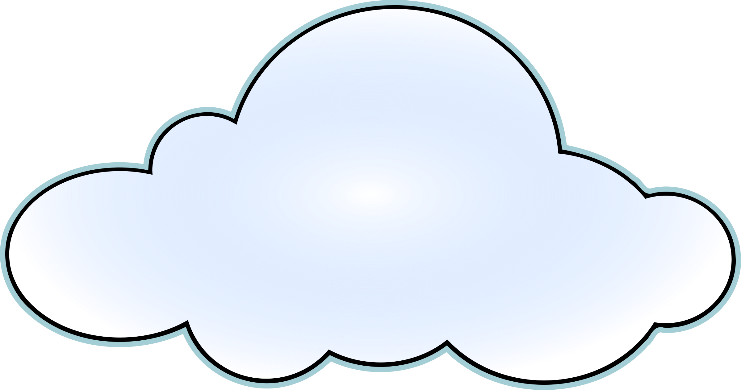 Cloud clipart visio, Cloud visio Transparent FREE for ...