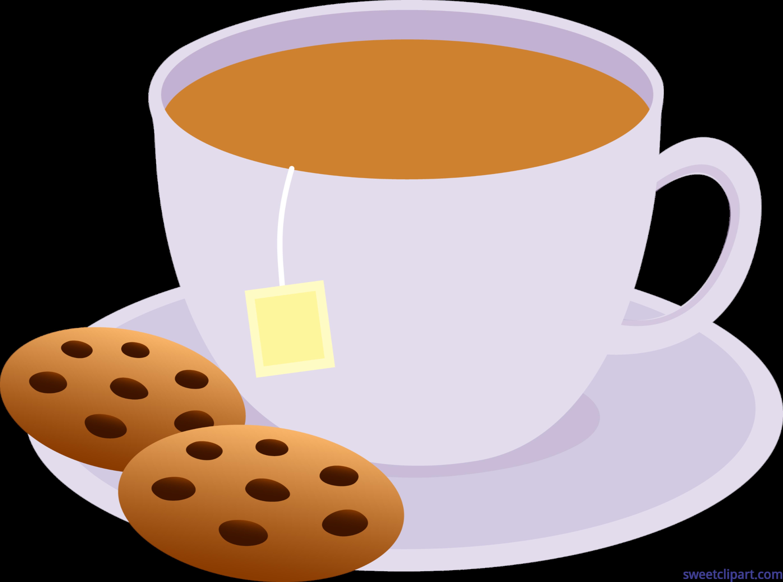 Tea cookies clip art. Clipart milk cup milk
