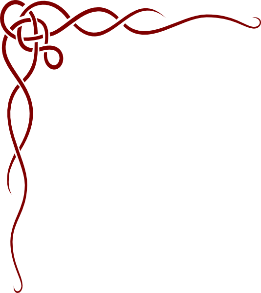 Flourish clipart scroll. Western border free download