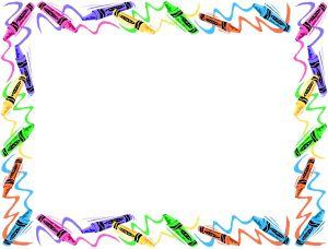 Crayon clipart boarder. Border panda free images