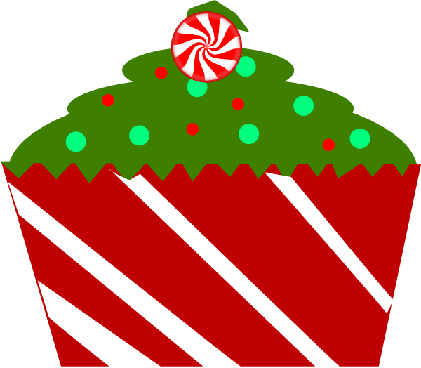 Image of birthday cupcake. Clipart happy november