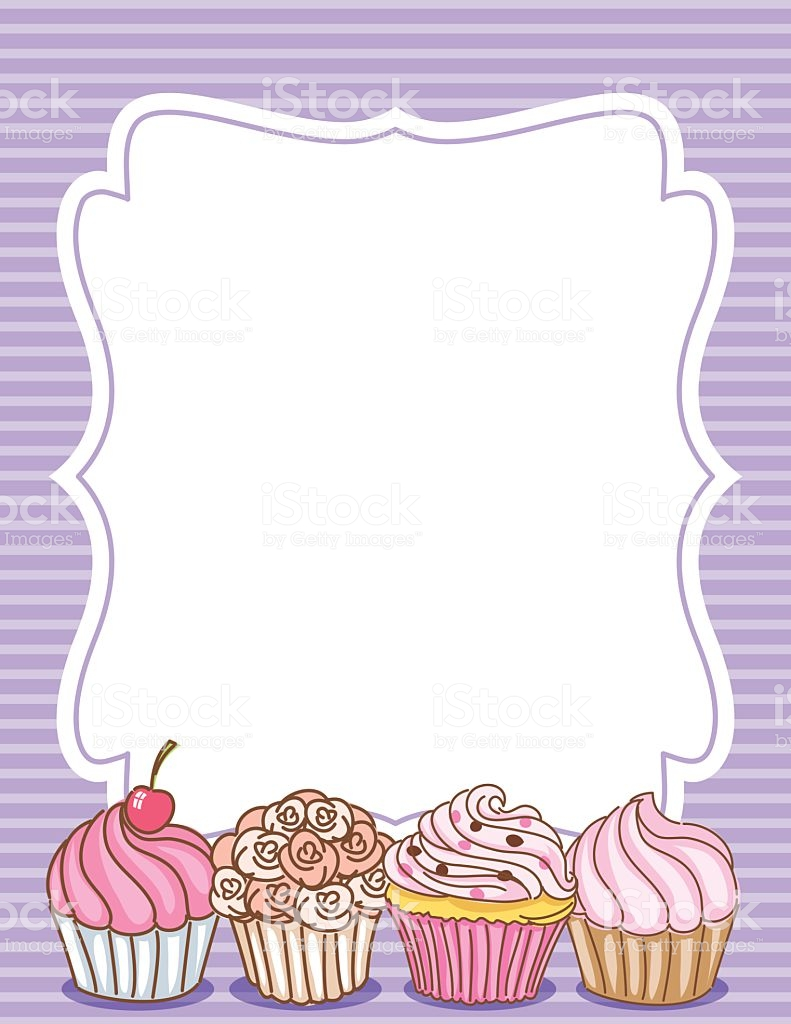 Download borders american muffins. Clipart cupcake boarder