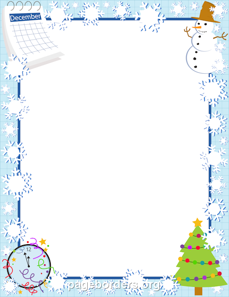 Pin by muse printables. December clipart border