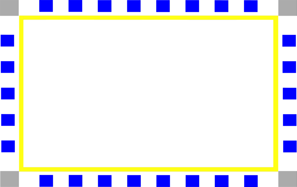 Free and blue british. Yellow border png