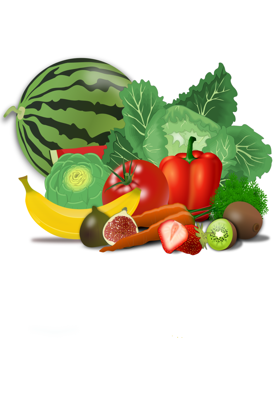 Fruit vegetable clip art. Vegetables clipart printable