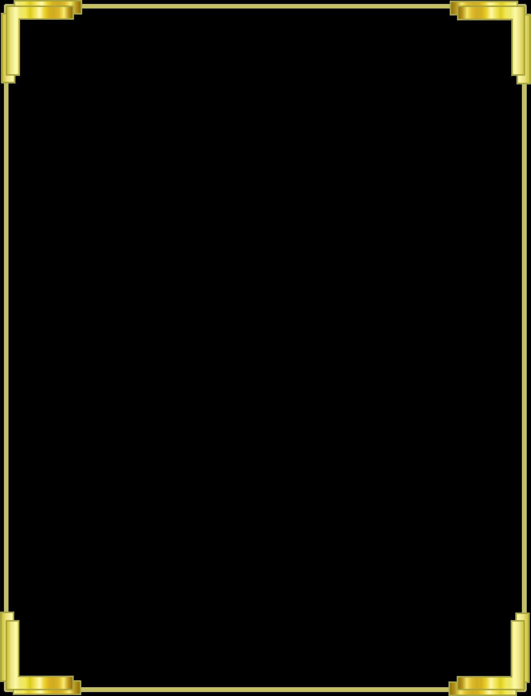 Gold border png. Frame