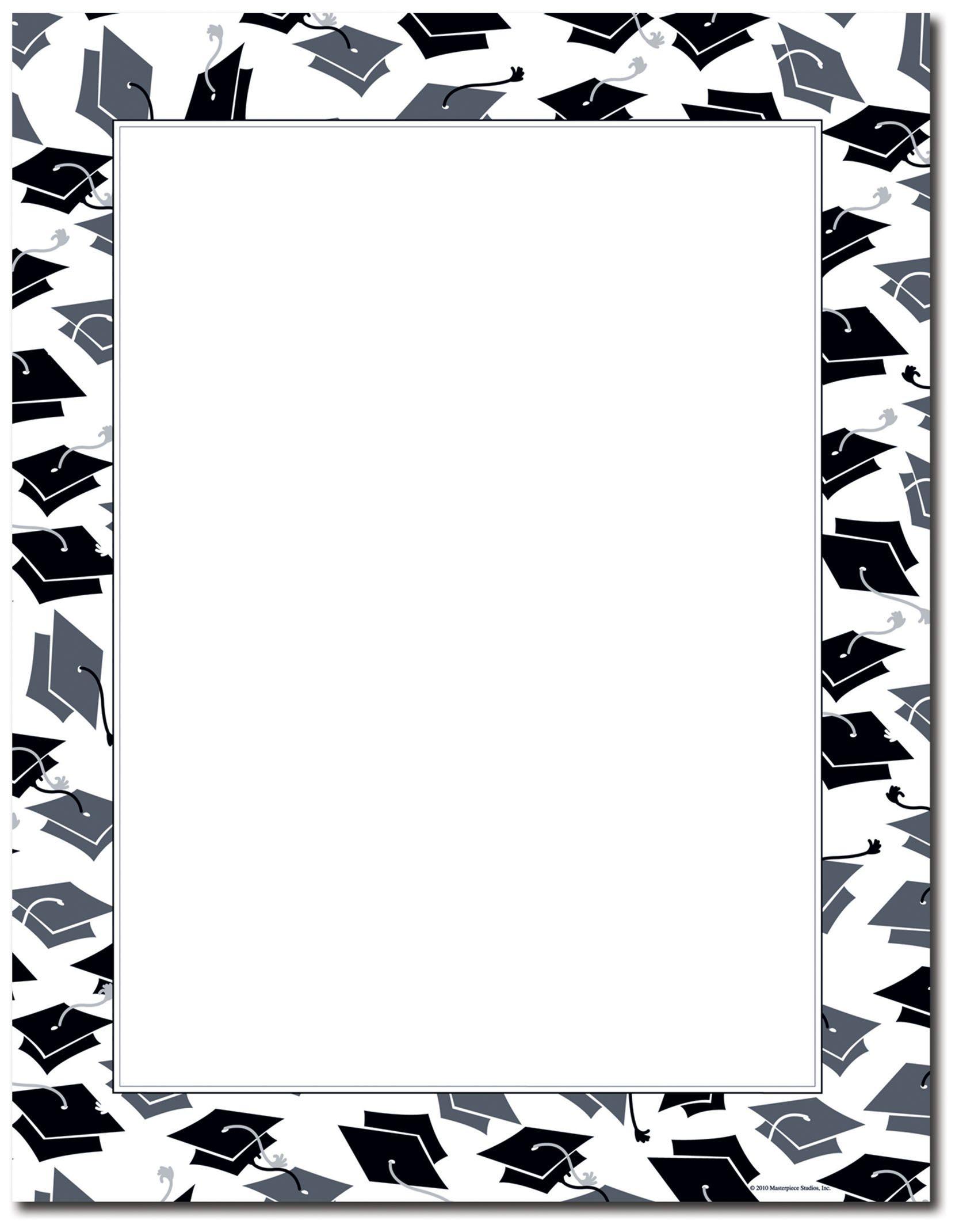 Free printable paper mortar. Clipart borders graduation